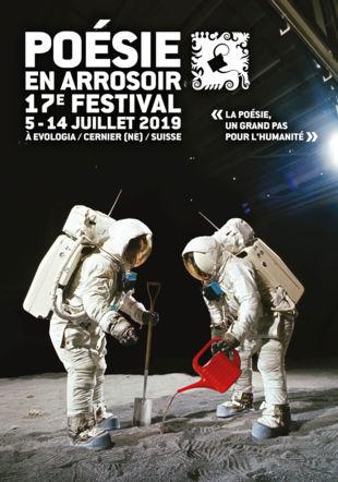Affiche de la 17ème édition du Festival Poésie en arrosoir
