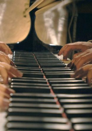 démonstration de piano