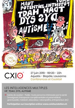Flyer pour event 27.06.2019 CXIO Foundation