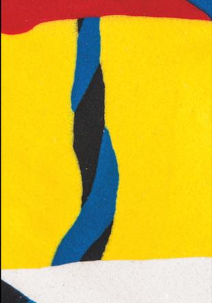 Pauline Richon, extrait de la série Paysages, 2019, impression numérique sur polyester, 300 x 100 cm