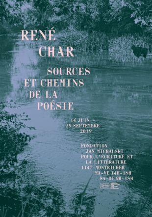 « René Char | Sources et chemins de la poésie »
