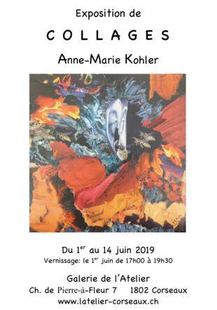 Collage Anne-Marie Kohler