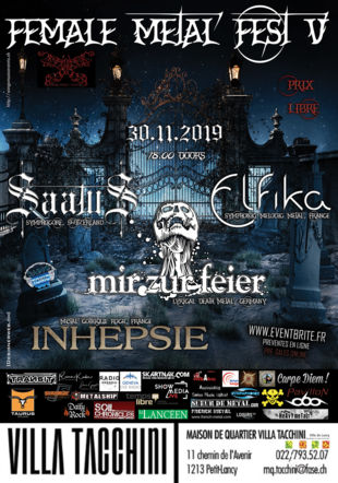 FEMALE METAL FEST 2019 WINGS MUSIC EVENTS