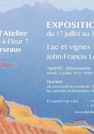 Lac et Vignes John-Francis Lecoultre