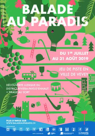 Poster A3 Balade au Paradis