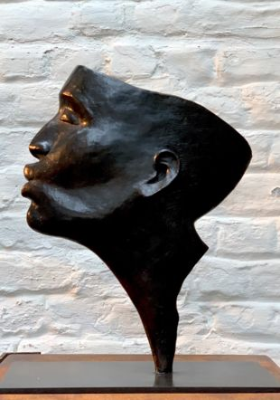 L'Ombre et le Baiser - bronze - 2015 - h.37cm - l.29cm - p.7cm @ITS