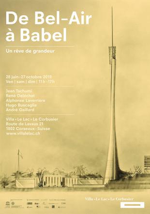 Jean Tschumi, projet de tour à Beaulieu-Lausanne Archives de la construction moderne