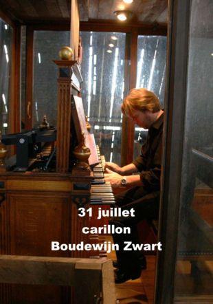 Boudewijn Zwart, carillonneur Boudewijn Zwart, carillonneur