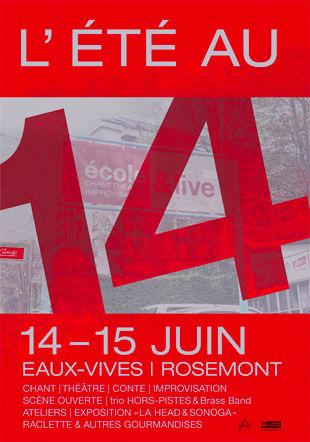 L'Eté au 14 - Brass Band Saint-Jean d'Aulps et Trio Hors-Pistes