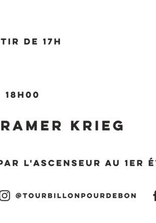 Flyer Michele Lysek La Galerie Kramer Krieg