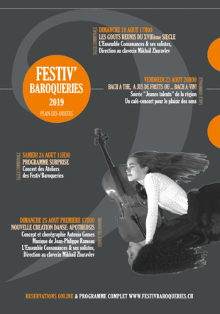 Flyer Festiv'Baroqueries