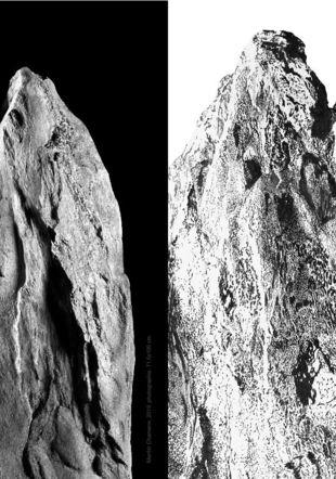 Menhir Chamane, 2019, photographie, 71.5x100cm (détails)