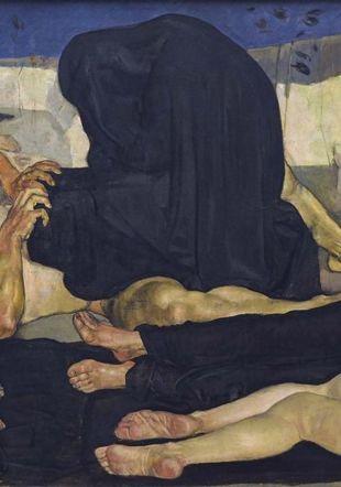 Le sexe c'est dégoûtant Ferdinand Hodler –Die Nacht