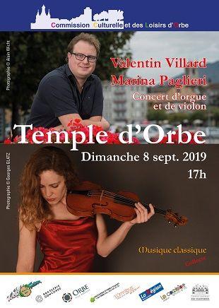 Valentin Villard & Marina Paglieri