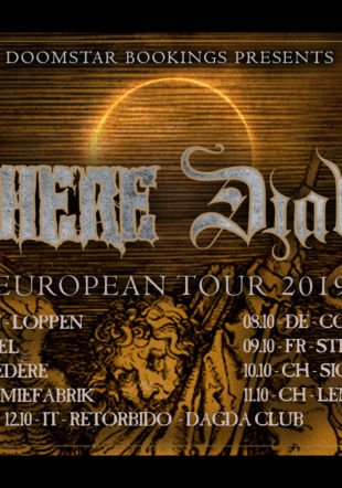 Hatesphere & DIabolical Europe Tour