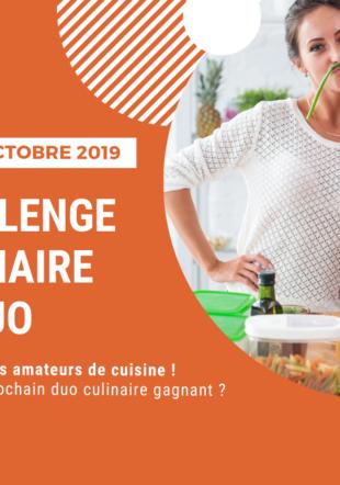 Challenge culinaire en duo Ecole-club Migros