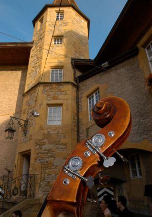 Cour du château concert symphonique