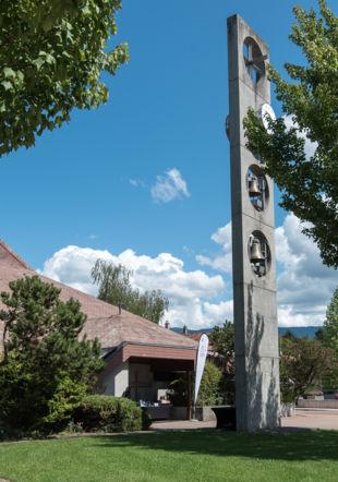 L'Eglise de Puplinge, lieu central où ont lieu tous les concerts Jacques Philippet