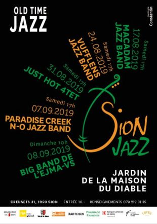 Sion Jazz - Programme 2019