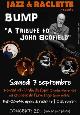 BUMP, A Tribute to John Scofield Jazz-raclette