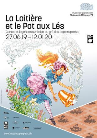 Affiche de l'expsoition Musée du papier peint