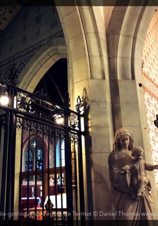 Intérieur de l'église de Territet