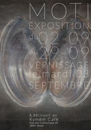 Exposition Moti // au KymèM Café Moti