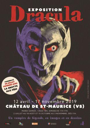 Affiche de l'exposition Château de St-Maurice/Dexter Maurer 2019