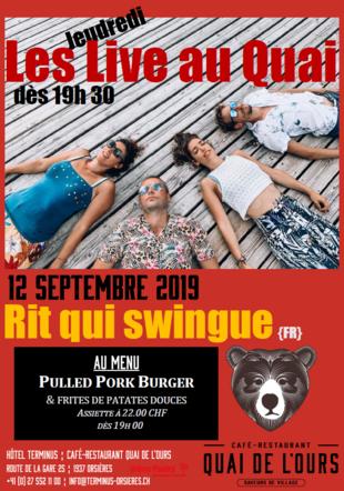 Rit qui Swingue - Les Jeudredi Live au Quai