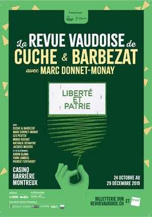 Revue vaudoise à Montreux