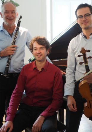 Trio Théophile, J.-Ph. Scalbert, E.Métral, Th. Aubry Jean-Philippe Scalbert
