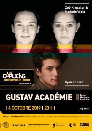 Affiche Gustav Académie Les-Capucins