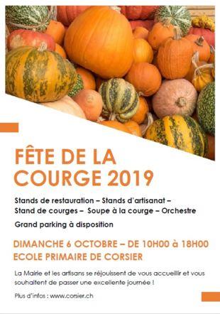 Flyer Fête de la Courge 2019