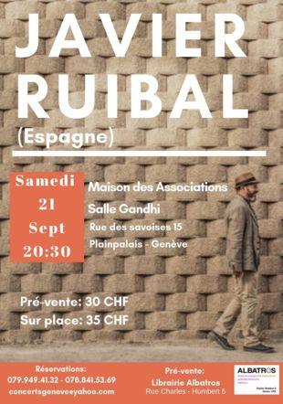 Javier Ruibal en concert