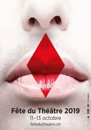 Affiche 2019 © Fête du Théâtre 2019