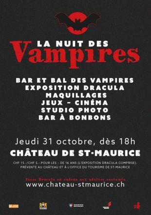 La Nuit des Vampires - Château de St-Maurice Château de St-Maurice, 2019