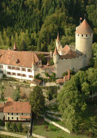Château de Lucens Moudon Région Tourisme