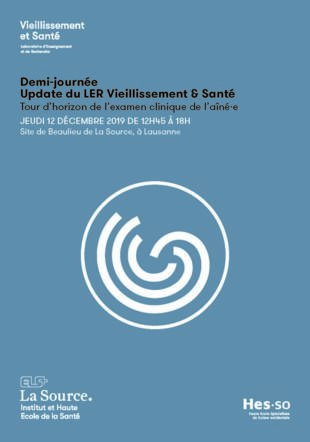 Demi-journée Update LER Santé & Vieillissement 2019 Archives Fondation La Source