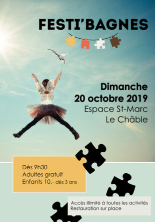 Affiche Festi'Bagnes