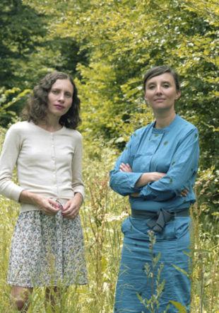 Sandra de Vivies et Elise Fouin