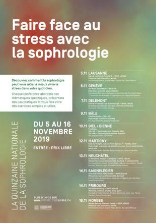 Flyer Quinzaine sophrologie