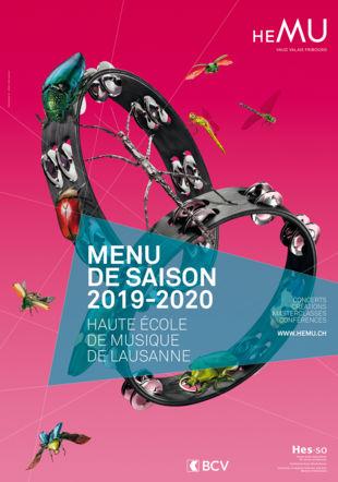 Affiche saison 2019-2020 HEMU