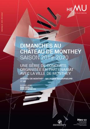 Affiche Château de Monthey 2019-2020 HEMU