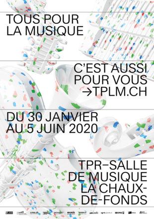 Affiche de saison de TOUS POUR LA MUSIQUE
