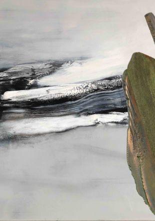 Yannick Bonvin Rey (peinture) et Pierre Oulevay (sculpture) kaminska&stocker