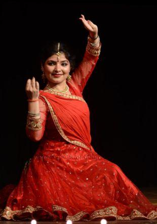 Shikha Sharma, dance Kathak
