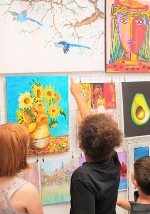 Atelier de peinture pour enfants