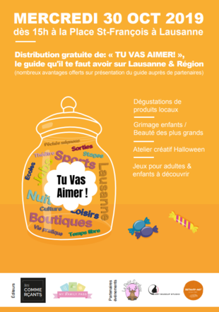 """Guide """"Tu vas aimer"""" My Family Pass/ Tes commercants"""