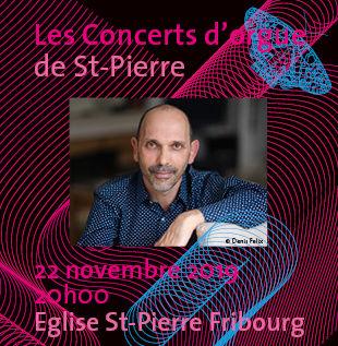 Diego Innocenzi aux orgues de St-Pierre Denis Felix