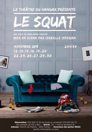Pièce de théâtre Le Squat